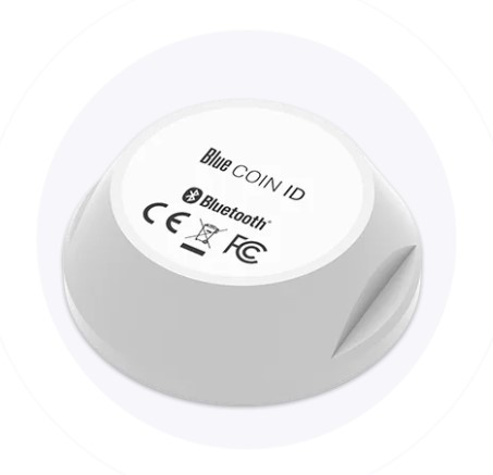 Bluetooth Low Energy ID Coin - 200m range - waterproof - 5 year battery
