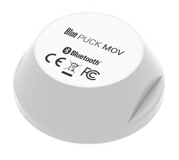 Bluetooth Low Energy Puck - movement detection - 500m range - waterproof - 12 year battery
