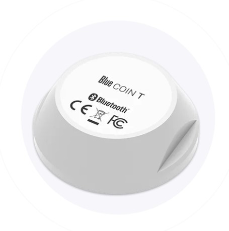 Bluetooth Low Energy Coin - temperature sensor - 200m range - waterproof - 5 year battery