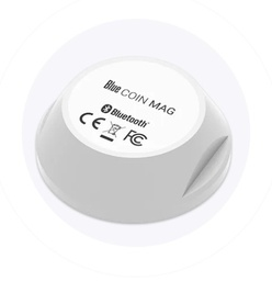 [BLE-BI-MAG-COIN] Bluetooth Low Energy Coin - magnet contact sensor - 200m range - waterproof - 2 year battery