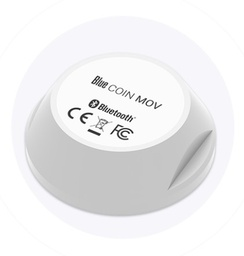 [BLE-BI-MOV-COIN] Bluetooth Low Energy Coin - movement detection - 200m range - waterproof - 5 year battery
