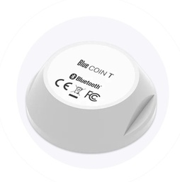 [BLE-BI-TEMP-COIN] Bluetooth Low Energy Coin - temperature sensor - 200m range - waterproof - 5 year battery